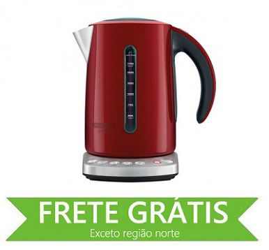 Chaleira Smart Vermelha Tramontina 220V 69092/022