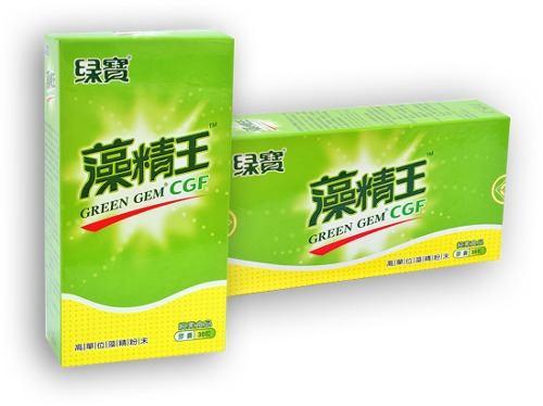 Chlorella CGF Fator de Crescimento Concentrado 280 mg (30 caps) Green Gem