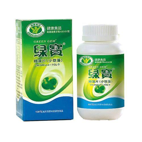 Chlorella 250 mg (360 tabs - 90 g) Green Gem