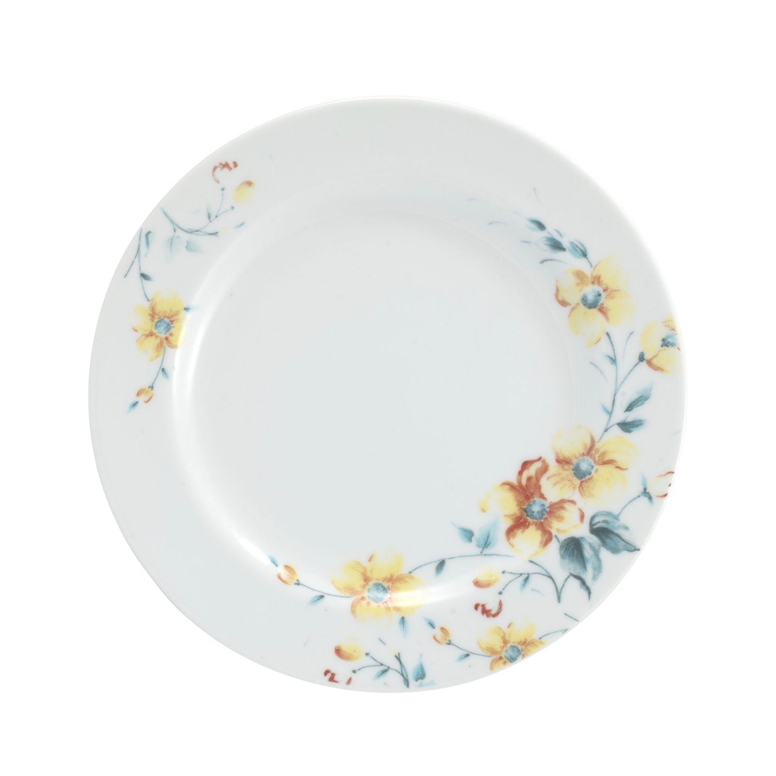 Conjunto de Pratos de Sobremesa 06 Peças Mônica Schmidt