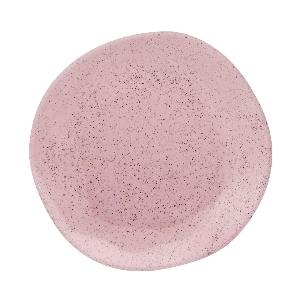 Conjunto de Pratos Fundos 06 Peças Pink Sand Oxford