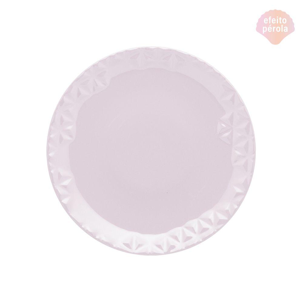 Conjunto de Pratos de Sobremesa 06 Peças Mia Quartzo Oxford