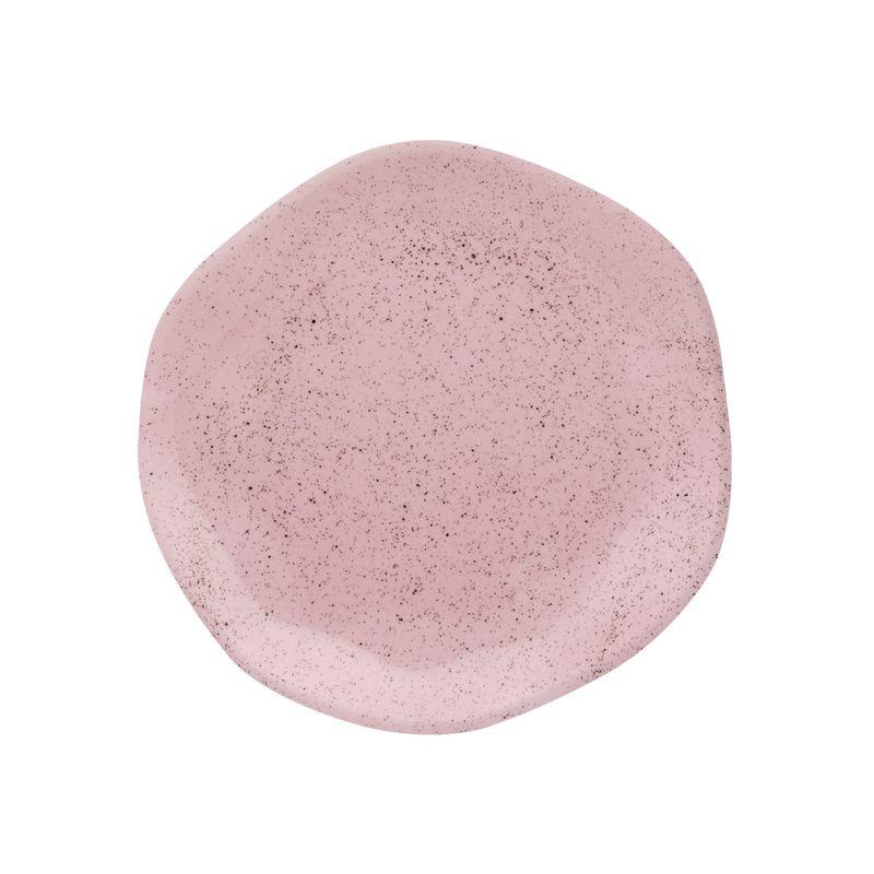 Conjunto de Pratos de Sobremesa 06 Peças Pink Sand Oxford