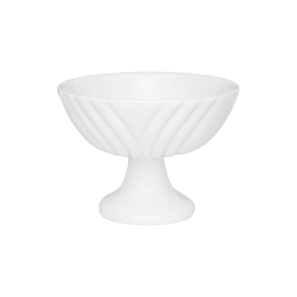 Conjunto de Taças de Sobremesa 6 Peças Soleil White Oxford