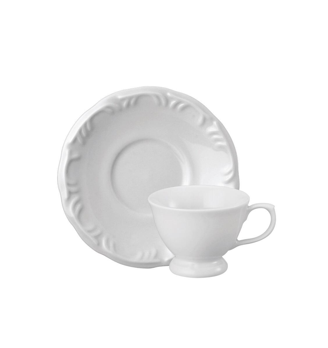 Conjunto de Xícara de Café com Pires 06 Peças Pomerode Schmidt
