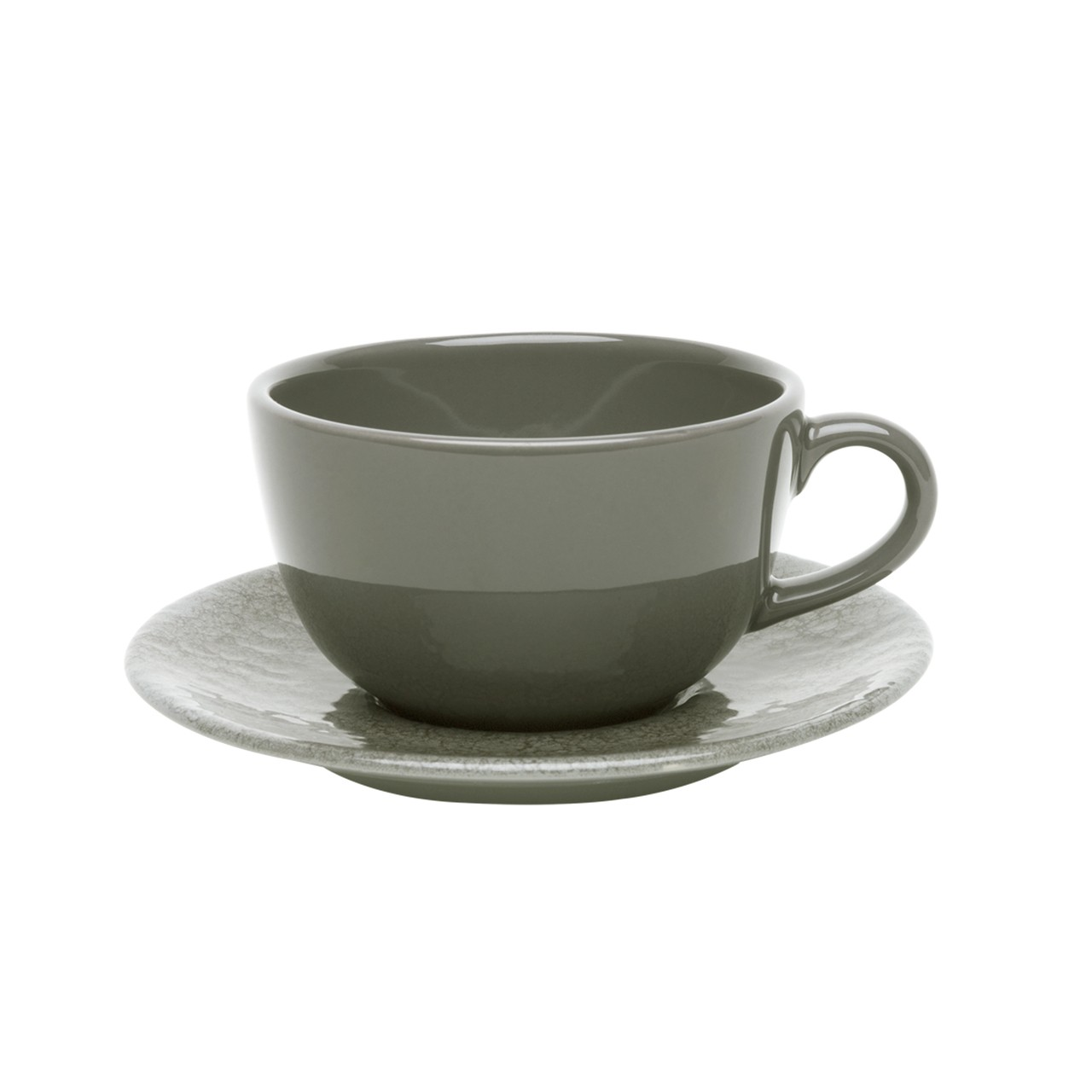 Conjunto de Xícara de Chá com Pires 06 Peças Moon Oxford