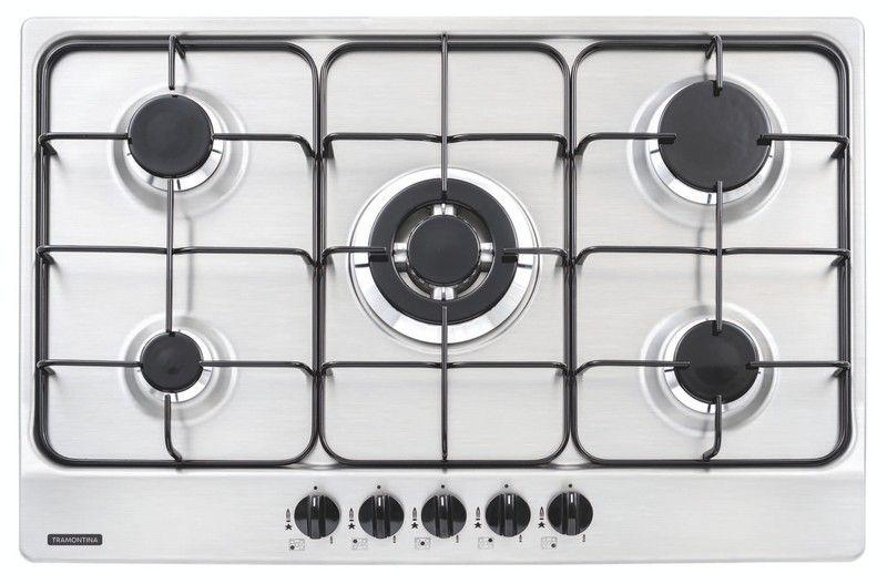 Cooktop em Inox com 5 Queimadores New Penta 5GX Tri 75 94716/111 Tramontina
