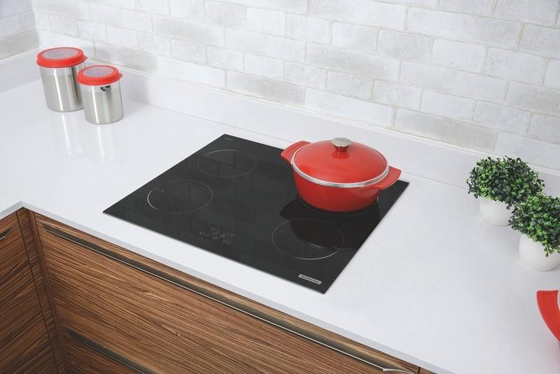 Cooktop Vitrocerâmico por Indução New Square Touch B 4EI 60 Tramontina 94751/220