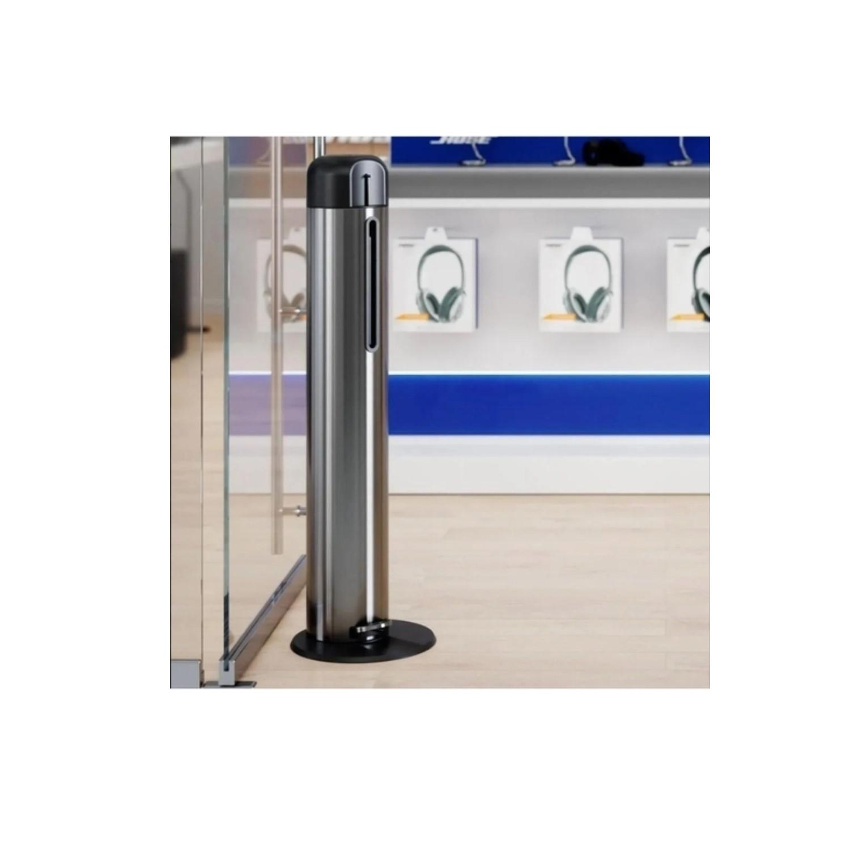 Dispenser para Álcool Gel 1 Litro em Aço Inox Brinox