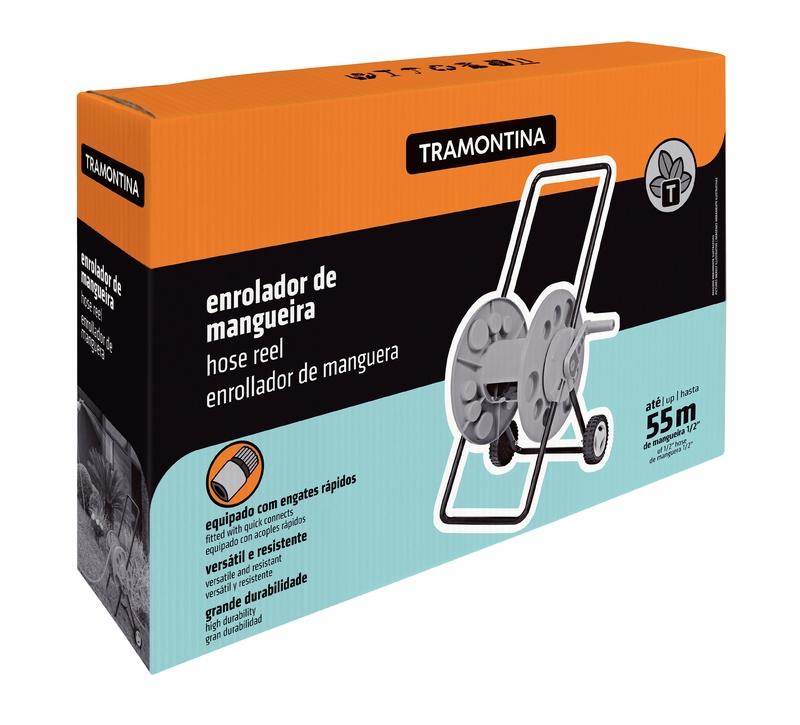 Enrolador de Mangueira com Rodinhas Tramontina 78595/000