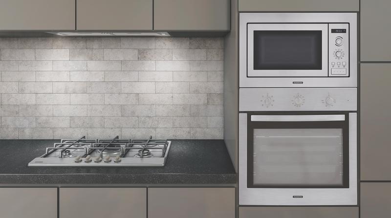 Forno Elétrico de Embutir New Inox Cook em Aço Inox 7 Funções 71 L Tramontina 94866/220