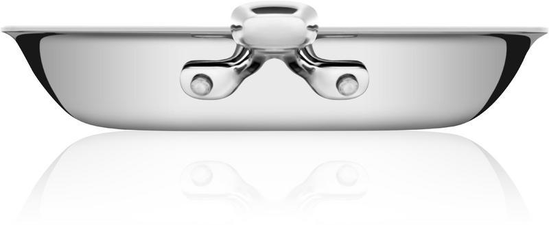 Frigideira Rasa Trix em Aço Inox Corpo Triplo 26 cm 2,1 L Tramontina 62835/263