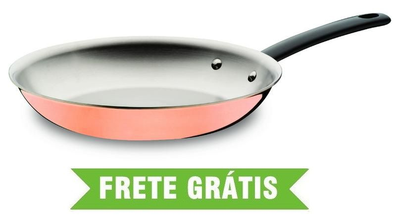 Frigideira Trix Cobre 26cm 1,80L Design Collection 62955/263 Tramontina