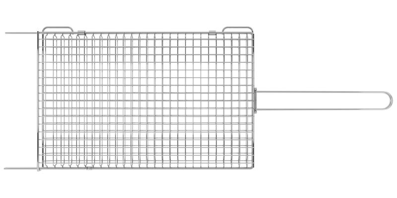 Grelha Churrasco em Aço Inox 75,5 x 27 Tramontina 26484/000