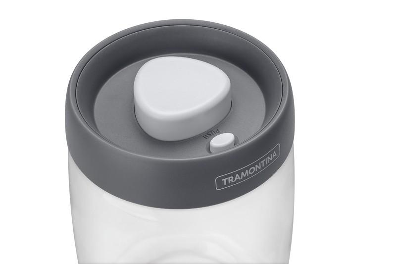 Jogo de Potes de Vidro Purezza com Tampa Plástica a Vácuo 3 Peças Tramontina 64220/750