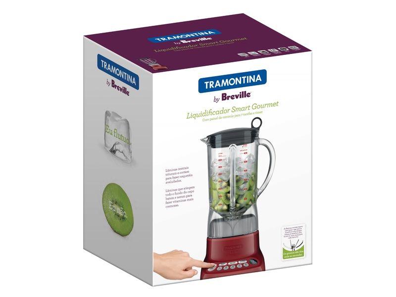 Liquidificador Smart Gourmet Vermelho Tramontina 220v 69005022