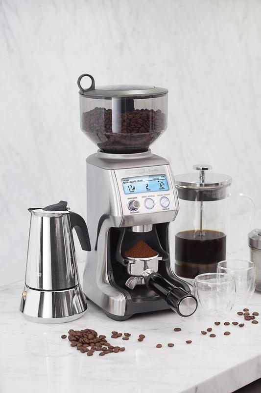 Moedor de Café Express em Aço Inox 60 Níveis de Moagem 220 V Tramontina by Breville 69060/012