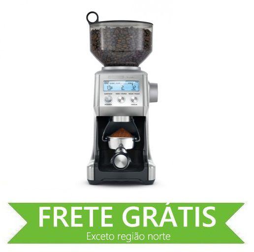 Moedor de Café Express em Aço Inox 60 Níveis de Moagem 127 V Tramontina by Breville 69060/011
