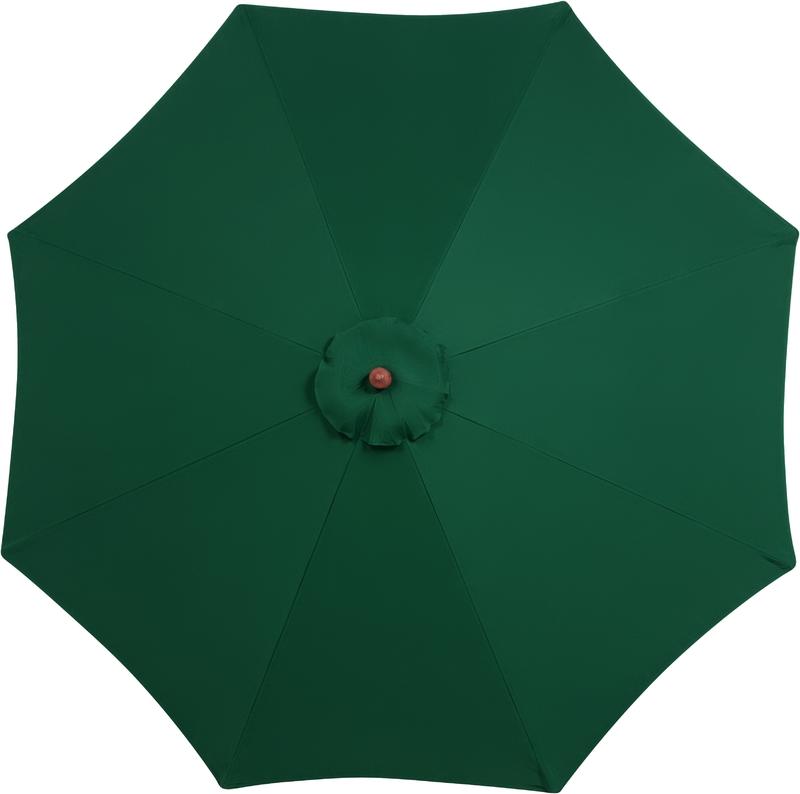 Ombrelone 2,7 metros Verde com Proteção UV Tramontina 10999/061