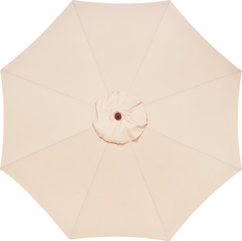 Ombrelone 3,5 metros Bege com Proteção UV Tramontina 10999/054