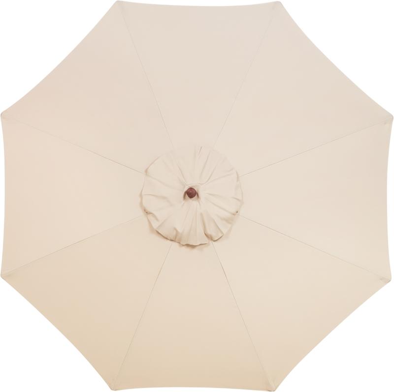 Ombrelone 3 metros Bege com Proteção UV Tramontina 10999/052