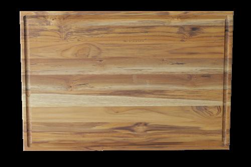 Tábua para Churrasco em Madeira Teca 48 x 33 cm