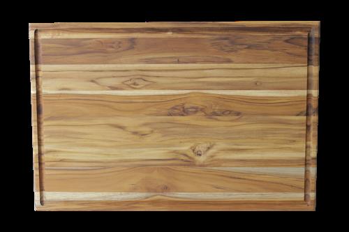 Tábua para Churrasco em Madeira Teca 51 x 37 cm