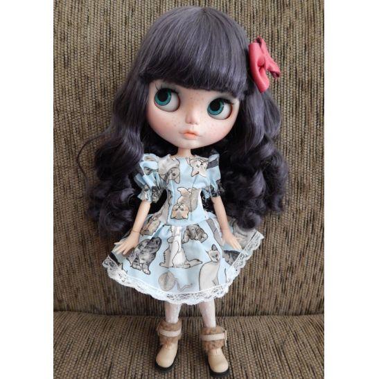 Vestido manga fofa para Dolls  - CANTINHO DA MANDINHA