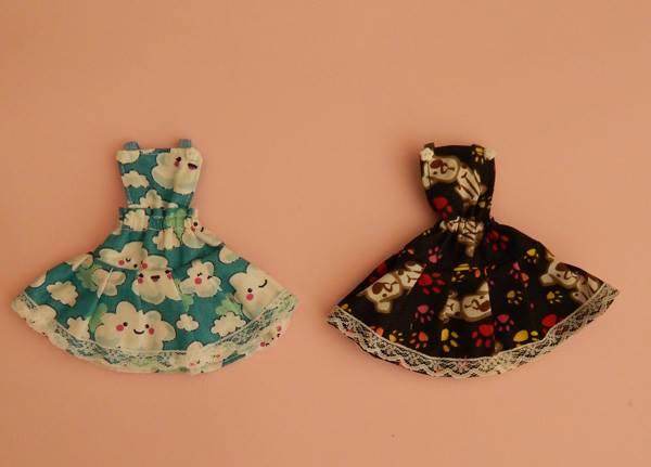 Jardineira de Saia para Dolls  - CANTINHO DA MANDINHA