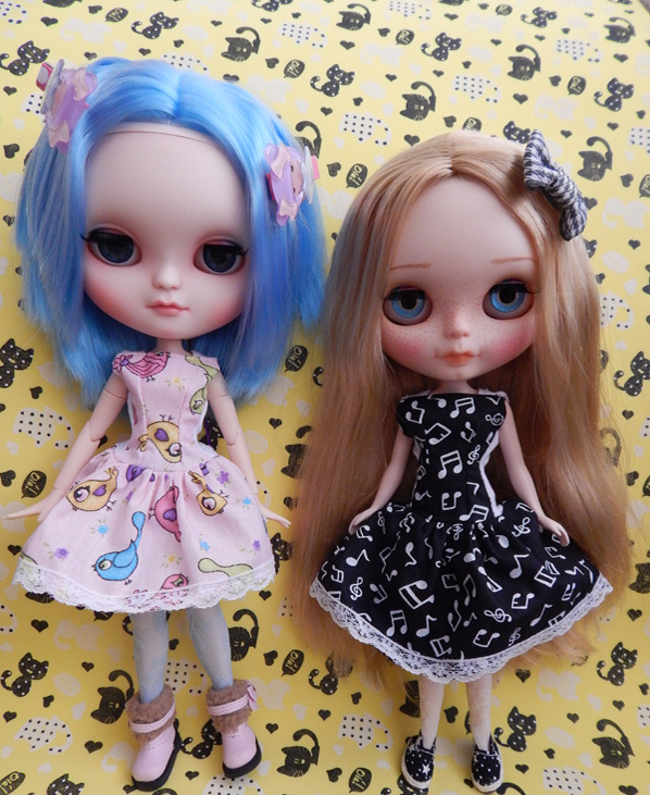 Vestido sem Manga para Dolls  - CANTINHO DA MANDINHA