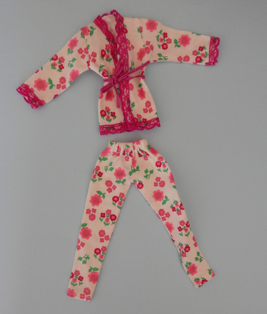 Pijama para Barbie - Pullip  - CANTINHO DA MANDINHA