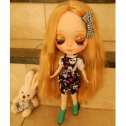 Jardineira de Short para Dolls