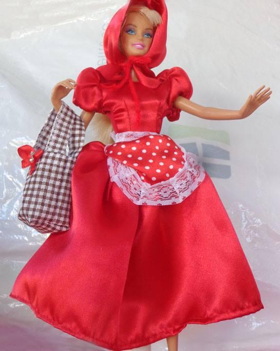 Fantasia de Chapeuzinho Vermelho  - CANTINHO DA MANDINHA