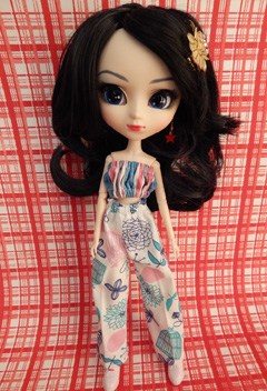 Conjunto de Calça e Top para Barbie - Pullip  - CANTINHO DA MANDINHA