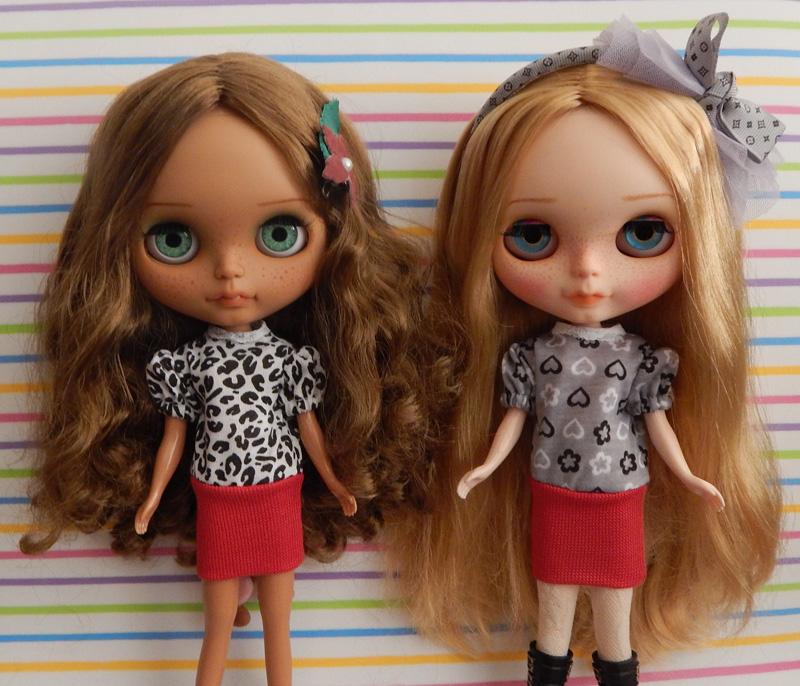 Vestido de Malha para Dolls  - CANTINHO DA MANDINHA