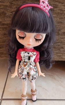 Jardineira de Shorts para Dolls 2  - CANTINHO DA MANDINHA