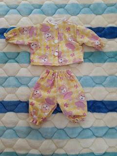 Conjunto de calça e blusa para mini bebê reborn  e Baby alive pequena   - CANTINHO DA MANDINHA