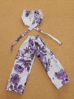 Conjunto de pantalona e blusa para Barbie   - CANTINHO DA MANDINHA