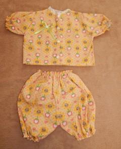 Conjunto de shorts e blusa   - CANTINHO DA MANDINHA