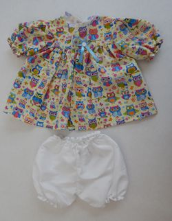 Conjunto de Vestido e Calcinha  - CANTINHO DA MANDINHA
