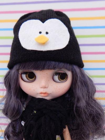 Touca de Pinguim  - CANTINHO DA MANDINHA