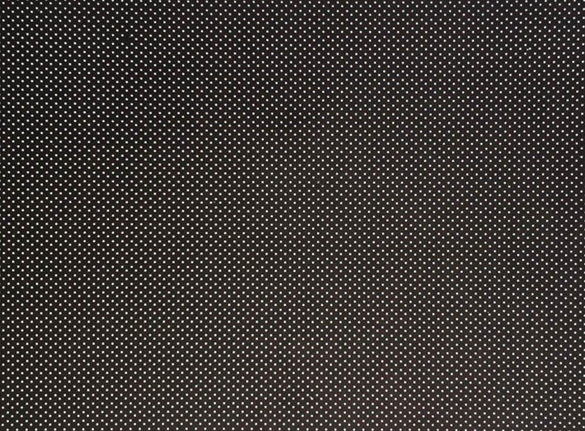 Placa de Bolinhas Pequena de 1mm Branca Fundo Preto  40x60cm  - Brindes Visão loja