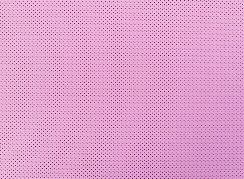 Placa de Bolinhas Pequena de 1mm Marrom Fundo Rosa BB 40x60cm  -