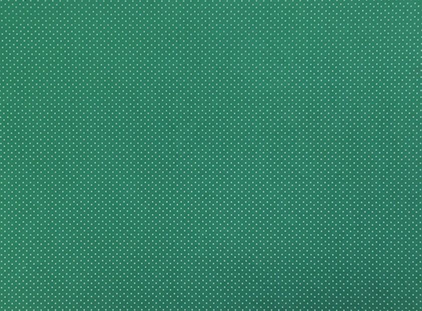 Placa de Bolinhas Pequena de 1mm Branca Fundo Verde Bandeira 40x60cm  -