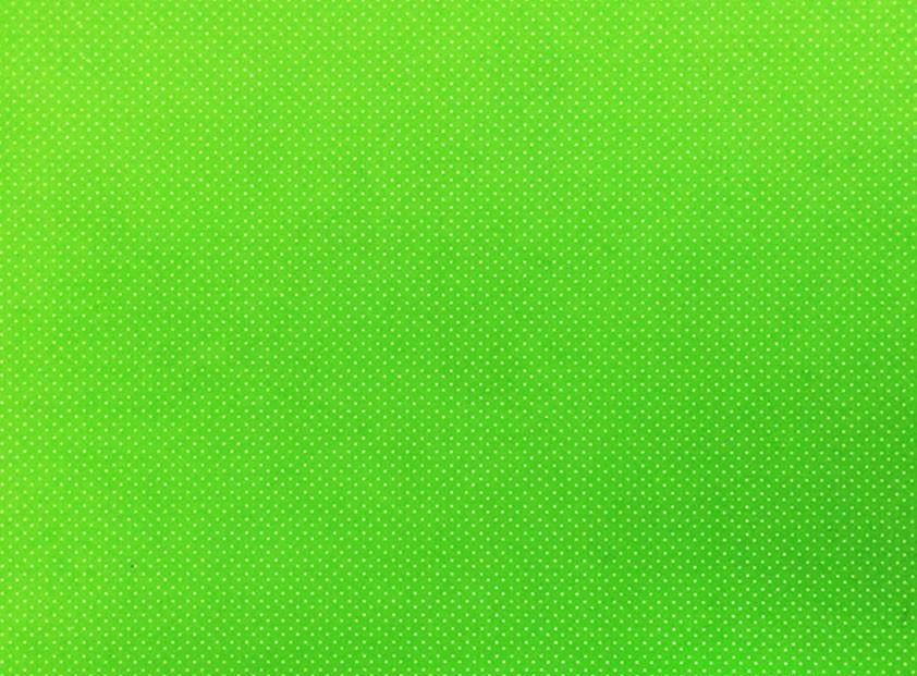 Placa de Bolinhas Pequena de 1mm Branca Fundo Verde Cítrico 40x60cm  -