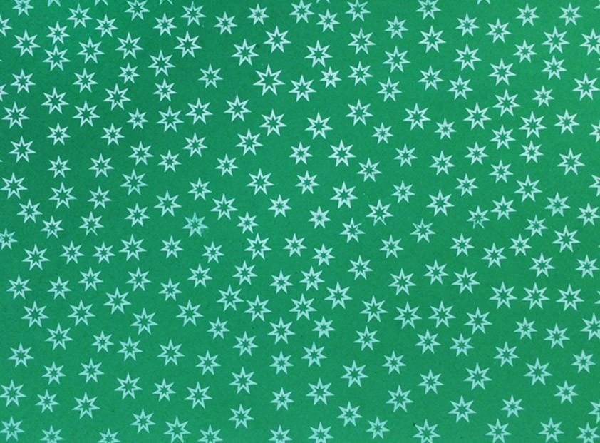 Placa Estrela Vazada Branca Fundo Verde Bandeira 40x60cm  - Brindes Visão loja