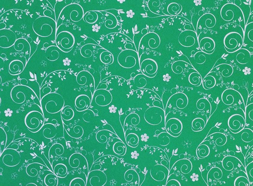 Placa Flor(9) Prata Fundo Verde Limão  40x60cm  -