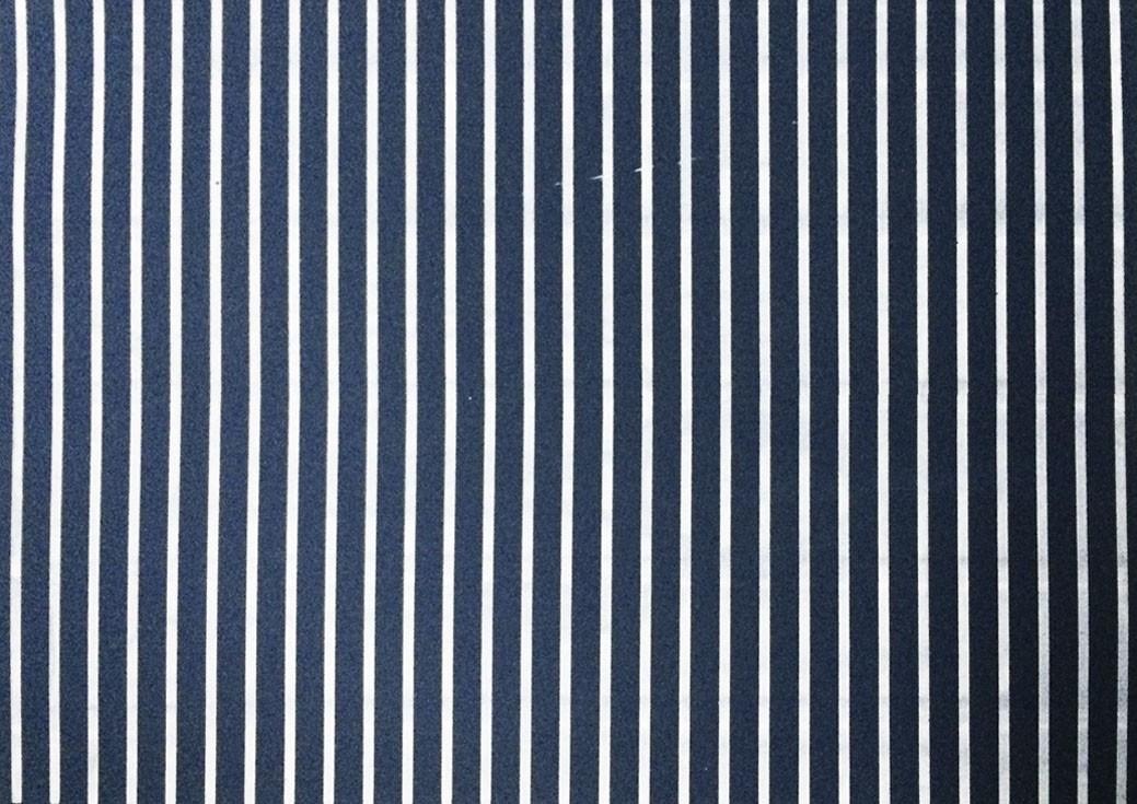 Placa Listrada Preto Fundo Azul Marinho  40x60cm  -
