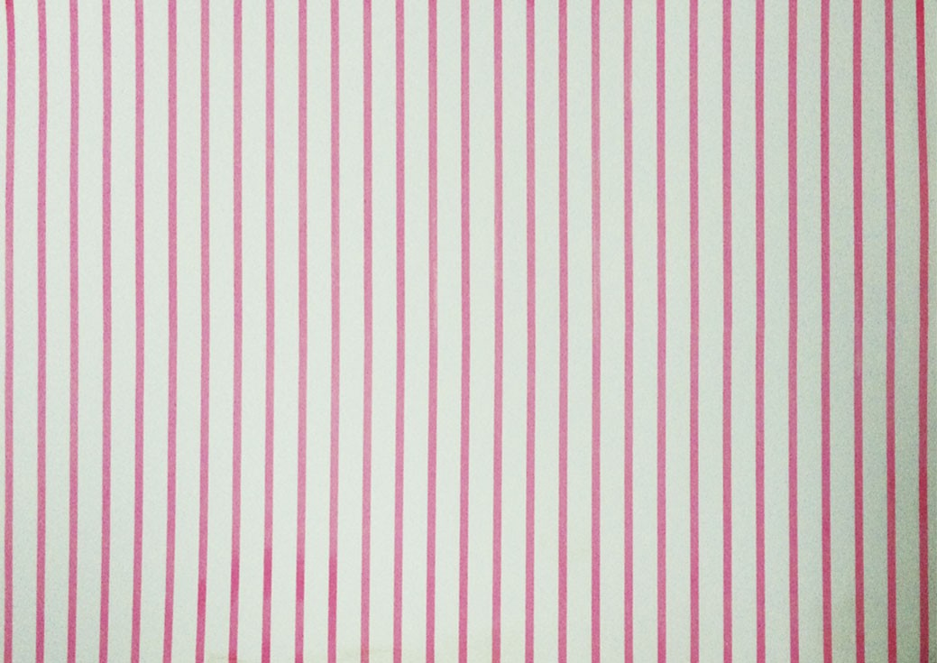 Placa Listrada Rosa Fundo Branco 40x60cm  - Brindes Visão loja
