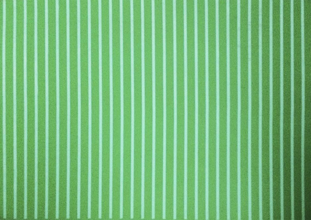 Placa Listrada Branco Fundo Verde 40x60cm  - Brindes Visão loja